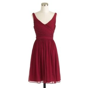 Wild Beet Chiffon Silk Heidi Bridesmaid Dress